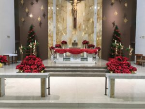 Christmas Decoration Set-up @ Ss. Peter & Paul Church