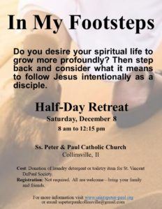 In My Footsteps Half-Day Retreat @ St. Peter & Paul Church | Collinsville | Illinois | United States