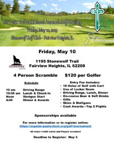 SSPP School Golf Outing Fundraiser @ Stonewolf Golf Club | Fairview Heights | Illinois | United States