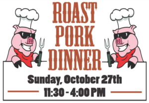 Roast Pork Dinner @ Ss. Peter & Paul Parish Fellowship Hall
